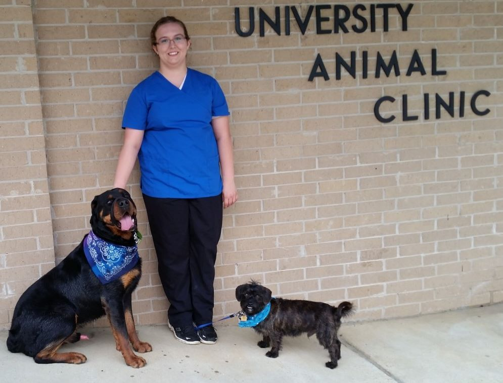 University Animal Clinic - Tyler TX - Vet Assistant Brittnee