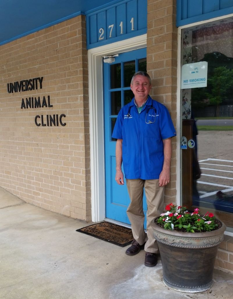 University Animal Clinic - Tyler TX - Our Friendly Veterinarian Dr. Schell